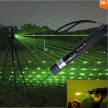 New 2015 Promotion SD Laser 303 Green Laser 5000mw High power Lazer burning Laser Pointer 303 presenter laserpointer + Safe Key