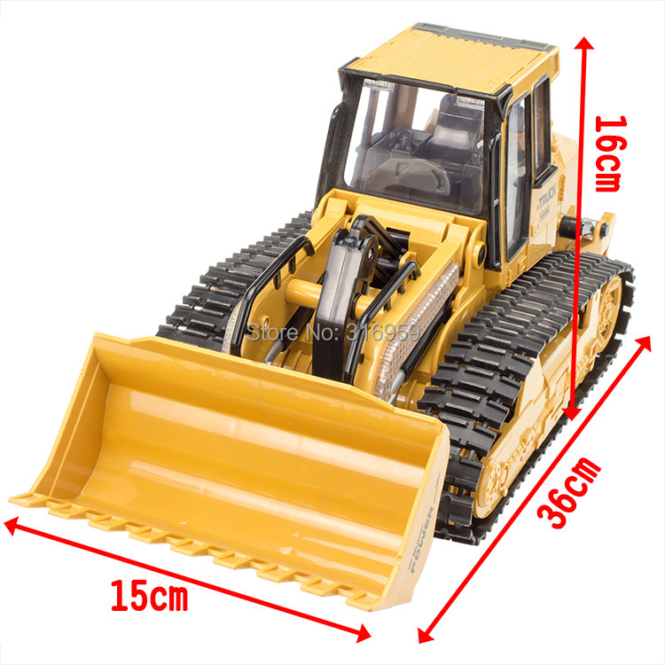 Remote Control Cat Bulldozer Toy