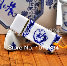 100% real capacity Ceramic 8gb 16gb pendrive personalized blue and white porcelain fashion Usb Flash Drives S411(China (Mainland))