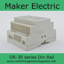 12 В DC 2a Din рейку импульсный источник питания 30 Вт DR серии DR-30-12 на din-рейку 12 В питания с CE сертифицированный один выход