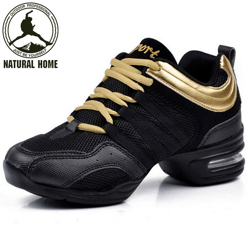 [NaturalHome] Brand 2016 Dancing Shoes for Women Jazz Sneaker New Fashion Salsa Dance Sneakers for Woman Ballroom Dance Shoes(China (Mainland))