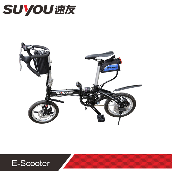 """Newest 14inch 48V 10AH lithium battery electric foldable bike 14"""" exquisite strong with 350W motor power factory outlet(China (Mainland))"""
