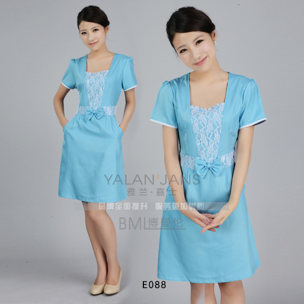 10set free ship work wear beauty services beauty services for Spa uniform alibaba