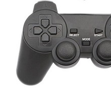 1pcs High quality 3 in 1 2.4GHz Wireless Controller for PS2 for PS3 PC/Compatible With Windows 98/ME/2000/XP/Vista Freetrack