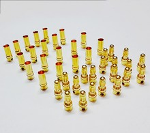 20Pairs/Lot 3.5mm Gold Bullet Banana Connector plug 3.5 mm Thick Gold Plated For ESC Battery RC(China (Mainland))