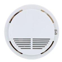 Wireless Smoke Detector High Sensitive Fire Alarm Sensor Monitor for Home Security,Photoelectric Smoke Alarm