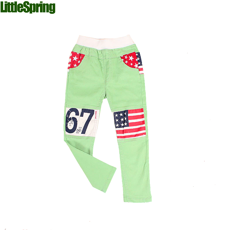 Mudkingdom American flag kids solid pants baby boys&girls pants toddler kids warm clothing knitted pants trousers(China (Mainland))