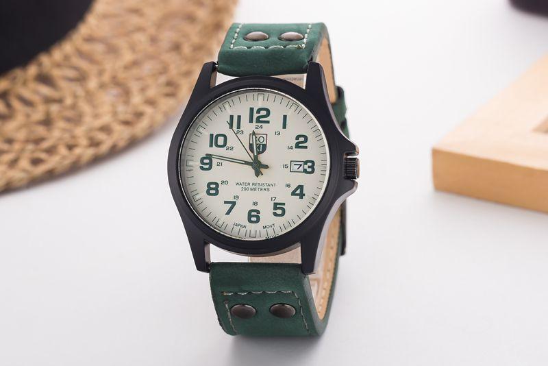 2015 new men's high quality quartz watch diamond fashion watch fashion casual business men watch waterproof outdoor calendar(China (Mainland))