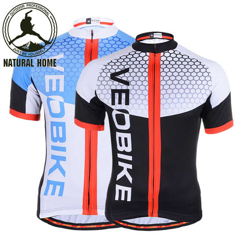 [NaturalHome] Brand Summer Riding Quick Drying Short Sleeve Women Breathable Clothes Men's Outdoor Sports Bike Cycling Jerseys(China (Mainland))