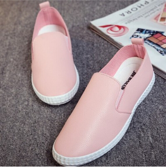 2016 Loafers Summer Style Platform Shoes Woman Breathable Slip On Flats Solid Moccasin Casual Women Shoes A87(China (Mainland))