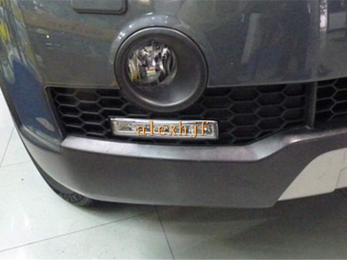 LED Daytime Running Lights DRL with Fog Lamp Cover LED Fog Lamp case for Chevrolet Captiva 2008~10 1:1 replacement,fast shipping(China (Mainland))