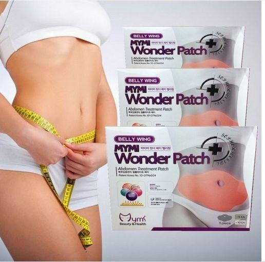 Пластыри для похудения  Mymi Wonder Patch. Отличный способ похудеть, без лишних усилий