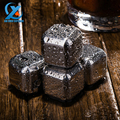 4 6 8 Pcs Whiskey Wine Beer Stones Stainless Steel Cooler Stone Rock Ice Cube Edible
