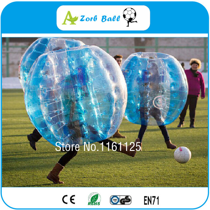 6pcs/Lot +1 Blower For Free, Cheap Price, Good Quality Bubble Soccer For Team Building and Party , Bumper Ball,zorb(China (Mainland))