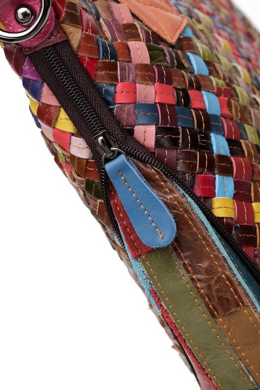 New 2014 Women Leather Handbags Patchwork Designer Brand Fashion