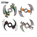YNYNOO WEAPONS TURN DARTS FIDGETS CUBES SPINNER ROTARY HAND TOYS TRI SPINNER NARUTO KING OF GLORIES