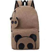 cute bookbags backpacks for teenage girls school bag pack kids panda backpack bolsa feminina suede lovely mochila infantil 209t(China (Mainland))