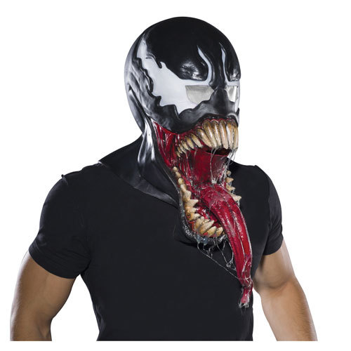 Spider-Man Venom Full Overhead Deluxe Latex Mask Beast Costume Halloween mascaras Mask devil horror party mask monster animal(China (Mainland))