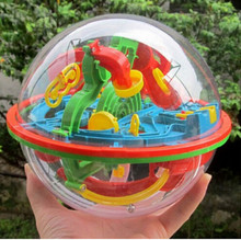 3D Magical Puzzle Intellect Maze Ball Kids Amazing Balance Logic Ability Toys Learning & Educational IQ Trainer Board Game(China (Mainland))