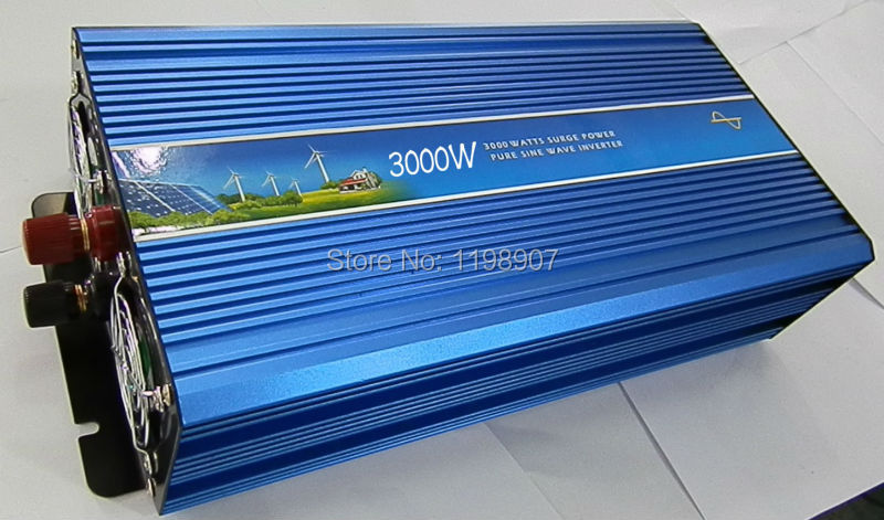 3000w pure sine wave dc to ac home inverter 12v 120v(China (Mainland))