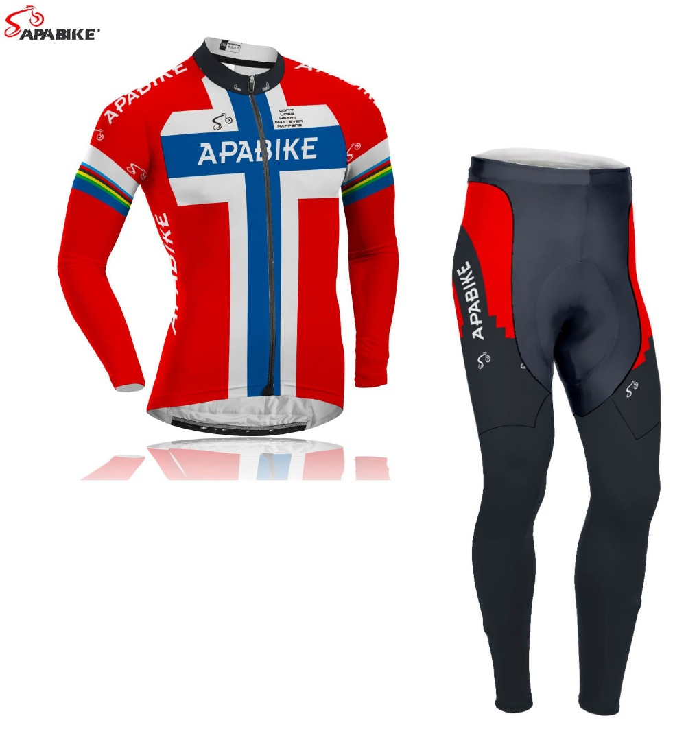 2015 New Long Sleeve Cycling Jersey And Sets Men Winter Thermal Fleece Cycling Clothing sleeved warm winter<br><br>Aliexpress