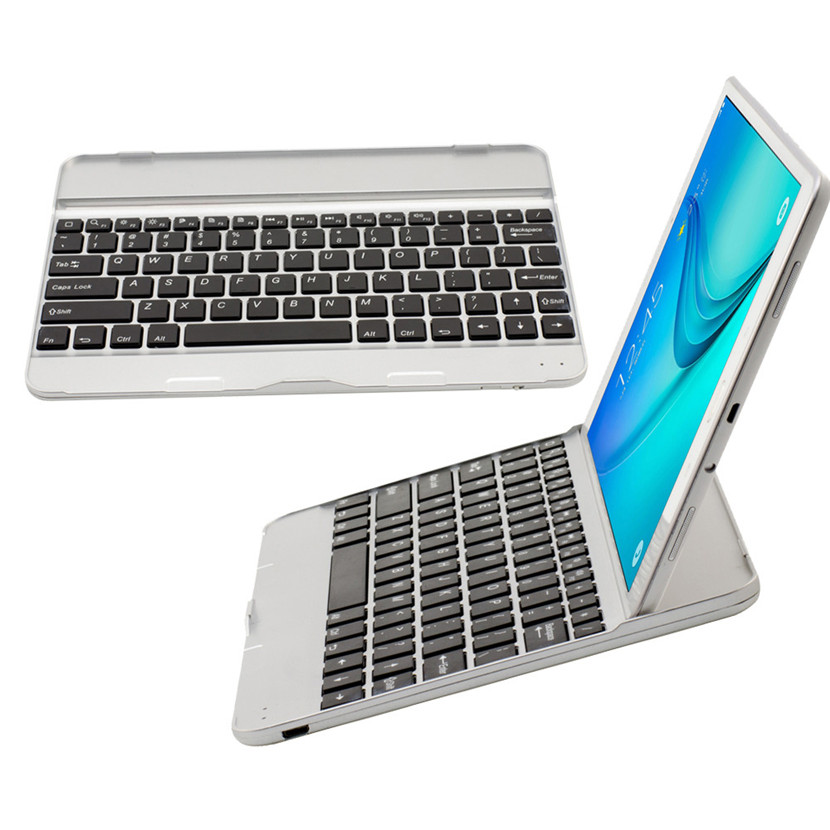 Mecall Tech Wireless Bluetooth keyboard Case Touchpad for Samsung Galaxy Tab A T550/T551(China (Mainland))