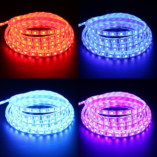 DC 12V 5050 SMD waterproof led flexible strip fita decoration lighting led Christmas tape rope light lamp string(China (Mainland))