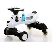 Ride On Animal Toy children drift car yo car scooter Cartoon dog light mute wheel wear Can also take a toy car Cute toddler 2015(China (Mainland))