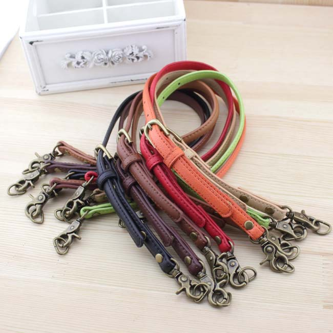 50~60cm thin backpack strap can be adjusted/1.2 cm single shoulder bag/The handle/Eight color/convenient(China (Mainland))