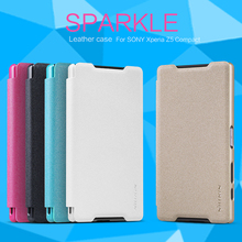 Buy Flip Cover Sony Xperia Z5 Compact 4.6inch Nillkin Sparkle Sleep Leather + PC Case Sony Xperia Z5 Mini Phone for $7.91 in AliExpress store