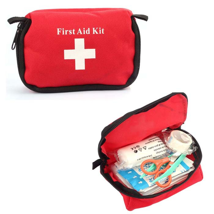 Travel Camping Medical Emergency First Aid Kit Survival Bag Treatment Pack Set Home Wilderness Survival(China (Mainland))