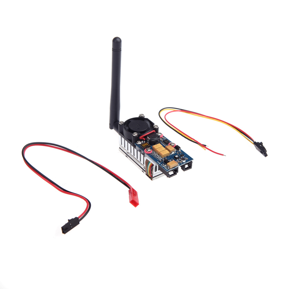 5.8G 2000MW 8CH FPV Wireless Transmitter TS582000 2Km Range AV Video Audio Sender(China (Mainland))
