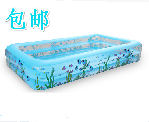 Free shipping Ultralarge wintop child baby swimming pool ocean ball pool adult inflatable paddling pool baby fishing pool(China (Mainland))