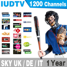 Sky Italy UK Deutsh IPTV Apk Service 1Year Subscription No Box,Support MAG25X,Smart TV,Android Tv With 3RCA Cable Free Shipping