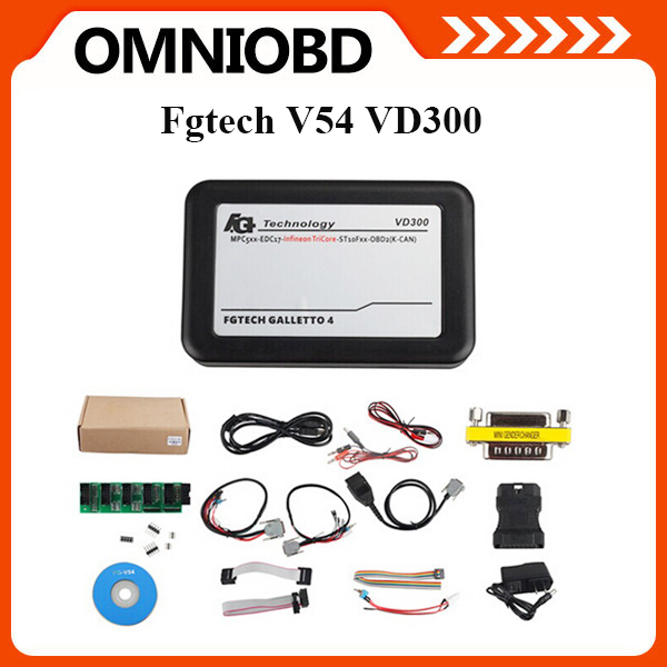10 pieces/lot Latest Version VD300 V54 FG Tech FGTech Galletto 4 Master FGTech V54 BDM-TriCore-OBD Function Galletto VD300(China (Mainland))