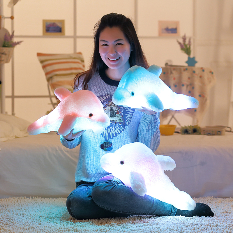 45cm-Luminous-Flashing-Colorful-Dolphin-Pillow-With-LED-Light-Soft-Toy-Cushion-Plush-Stuffed-Doll-For (2)