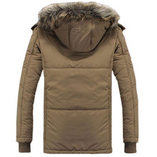 Free shipping 2015 New arrive large size M 4XL thick winter coat men s fashion added