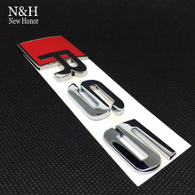 Buy Auto Accessories 3D metal Car Emblem RS5 RS 5 Sticker Rear Tail Badge Sticker Logo RS5 Badge Logo Audi RS5 Car styling for $5.38 in AliExpress store