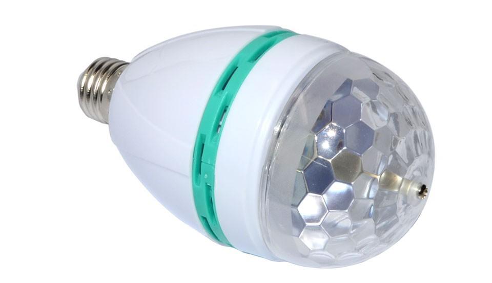 Освещения для сцены E27 3W Auto RGB