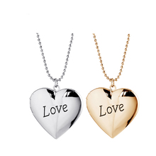 Open Heart Letter LOVE Pendant Art Photo Vintage Copper Cabochon Choker Statement Necklaces For Women $5 Free Shipping A60(China (Mainland))