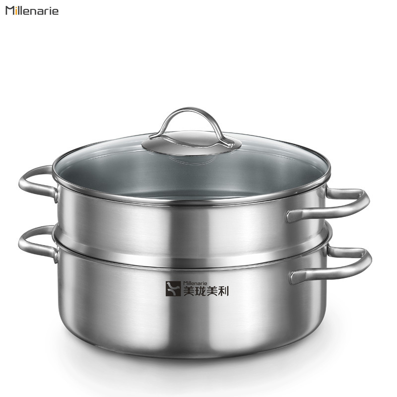 Online buy wholesale large steamer pot from china large for Buy kitchen cookware