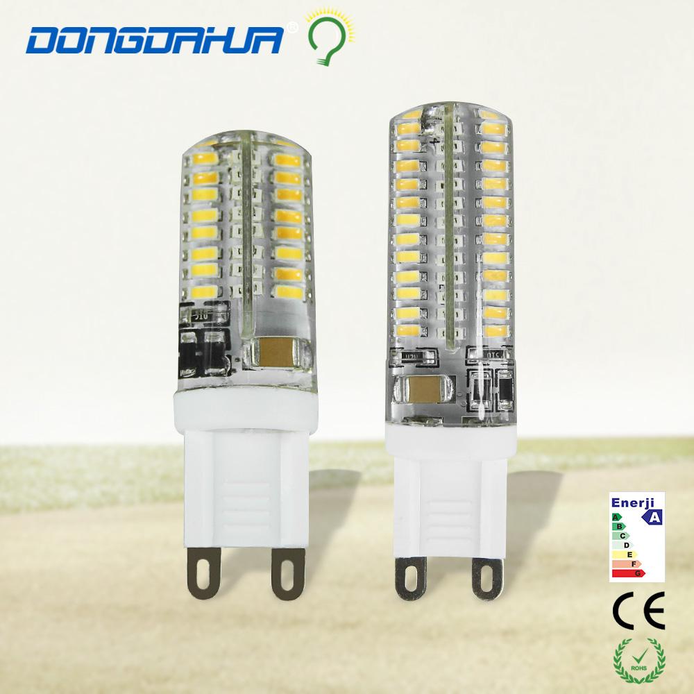 G9 LED lamp 220V lamp G9 bright LED 3W5W crystal light source pins are inserted global energy saving halogen bulb LED light lamp(China (Mainland))