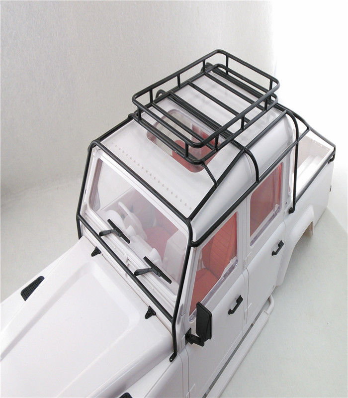 Metal Roll Cage Luggage Tray For 1/10 SCALE RC4WD RC Land Rover Defender D110 D130 JK 5 Doors PICK UP Hard Body(China (Mainland))
