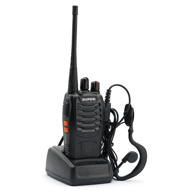 Baofeng 888s Walkie Talkie 5W UHF 400-470MHZ Handheld Portable Radio BF-888S Ham Radio A7154A(China (Mainland))