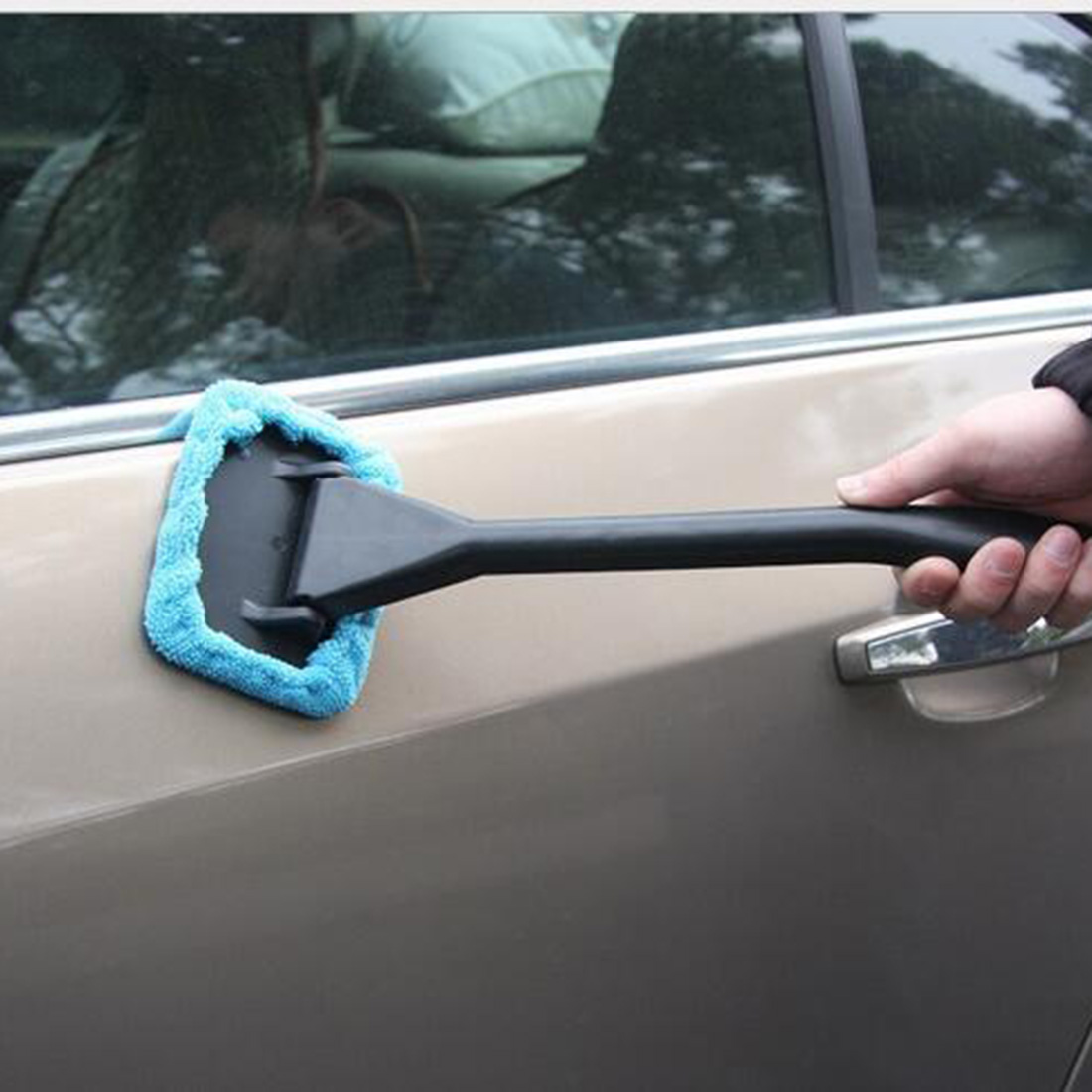 Home Practical 1pcs Portable Windshield Easy Cleaner - Clean Hard-To-Reach Windows On Your Car Or Home Cleaning Tools(China (Mainland))