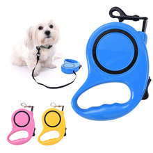 Buy 5M Automatic Retractable Dog Leash ABS Nylon Pet Puppy Cats Leashes Pets Traction Walking Lead Small Medium Dogs for $8.07 in AliExpress store