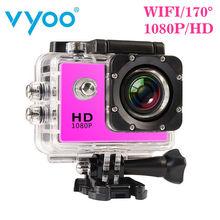 2016 New Waterproof Action Camera 1080p Full Hd Camara Deportiva 2.0 Inch Led Cam with Wifi Hdmi Big Battery Sport(China (Mainland))