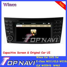 Top Wince Car DVD E-Class W211/CLS W219/ CLK W209/G W463 Capacitive Screen Orignal UI Bluetooth Map - ShenZhen Navi Electronic Co.,Ltd store
