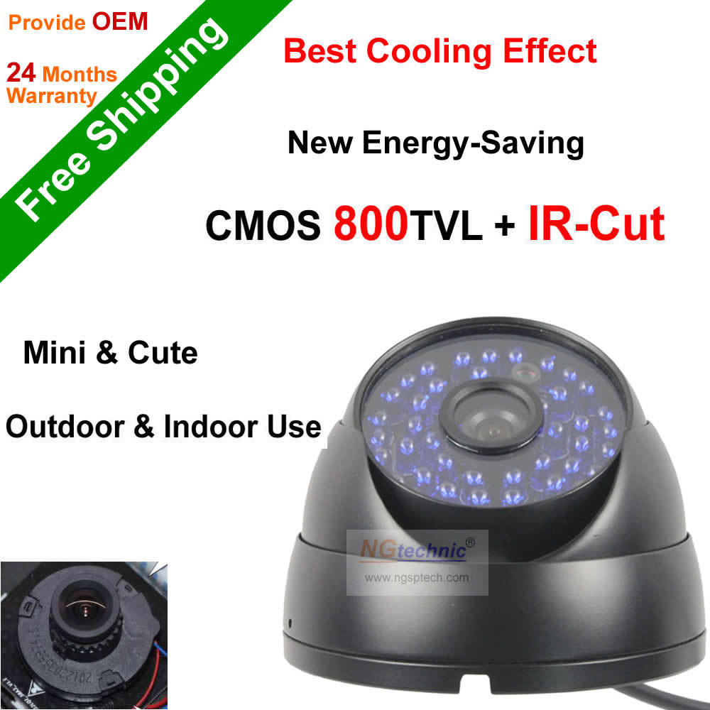 800tvl Waterproof CCTV Camera Vandal-proof Day/Night Vision Security Camera 48 IR Led And Built-In IR-CUT Filiter Dome Camera <br><br>Aliexpress