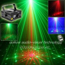 Новый 18 шаблонов проектирования лазерный проектор мини домашних развлечений светло-красный зеленый сценический эффект синий из светодиодов ну вечеринку огни главная дискотека лазерного